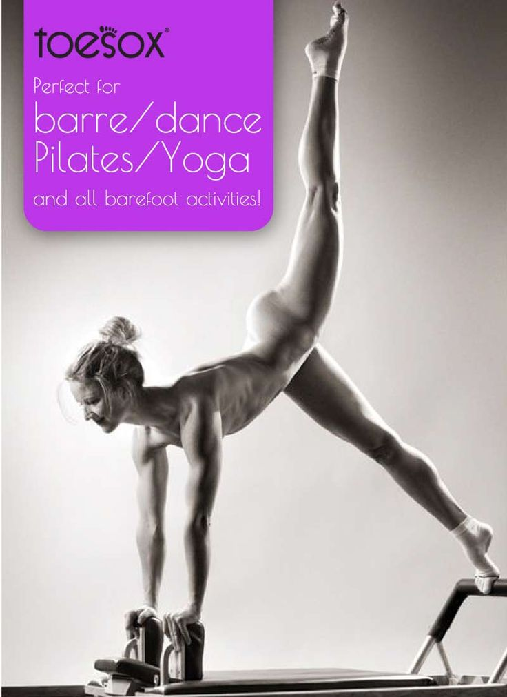 Toesox for barre, dance, pilates and yoga