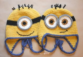 20 Free Crochet Minion Patterns Crochet minion hat pattern