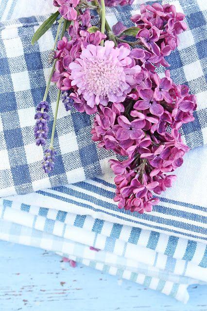 Lilac. Lavender. Gingham. VIBEKE DESIGN