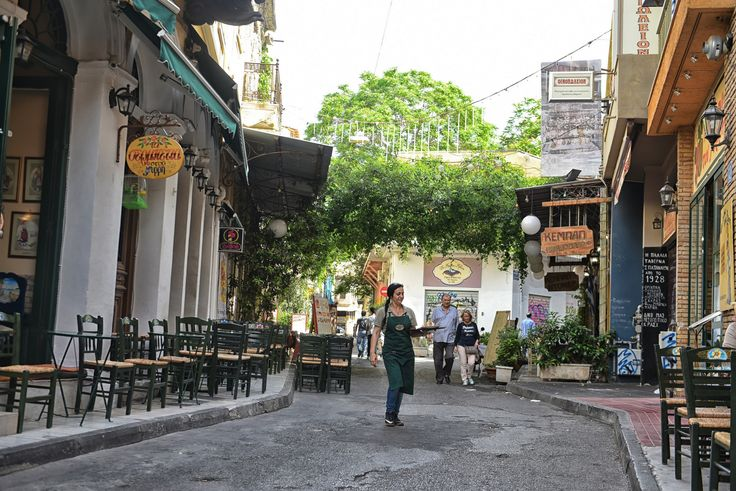 Do not hesitate to walk in Psirri streets as you will realize that is a place with full of contradictions.