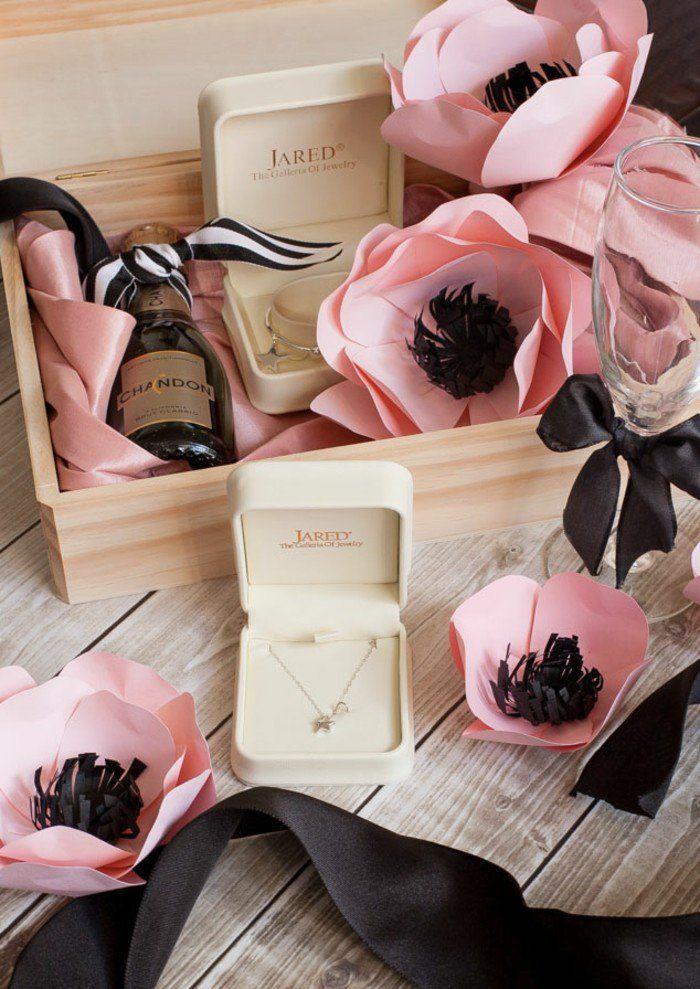 1000 id es sur le th me coffrets cadeaux pour demoiselle d - Idee cadeau temoin mariage ...