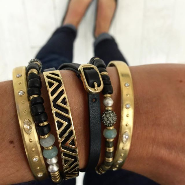 Some Fall arm party inspiration for ya... Black is back baby! #SDArmParty  www.stelladot.com/aydinhoo