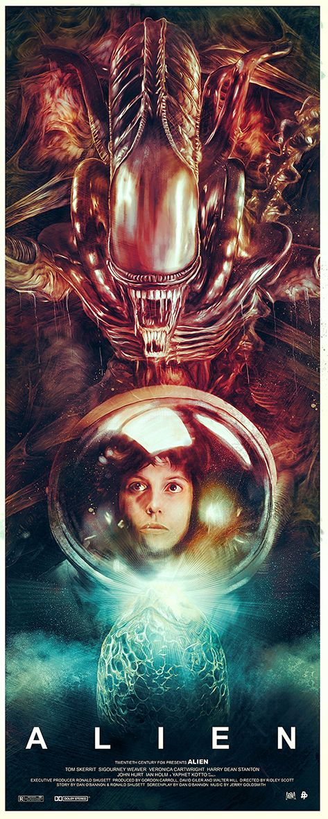 More ALIEN Tribute Art from Poster Posse
