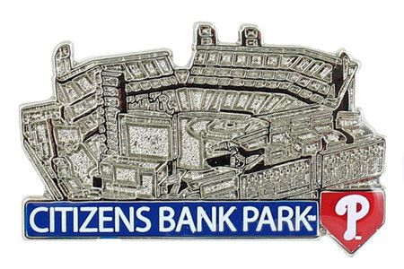 Philadelphia Phillies Citizens Bank Park Pin