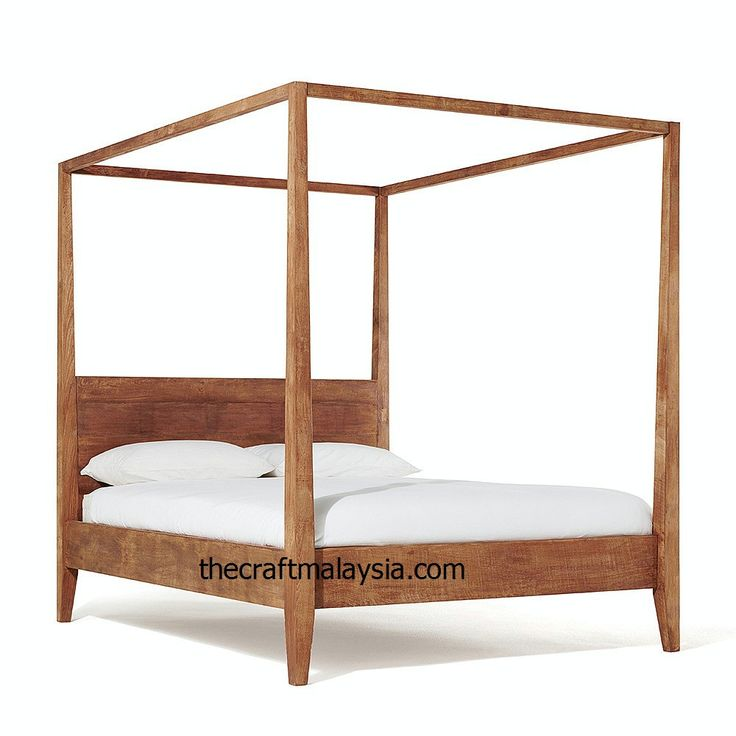 Our Sumatra four poster bed is handmade by artisans from rustic reclaimed  teak in Indonesia  Find this Pin and more on teak wood furniture online. 20 best teak wood furniture online store images on Pinterest