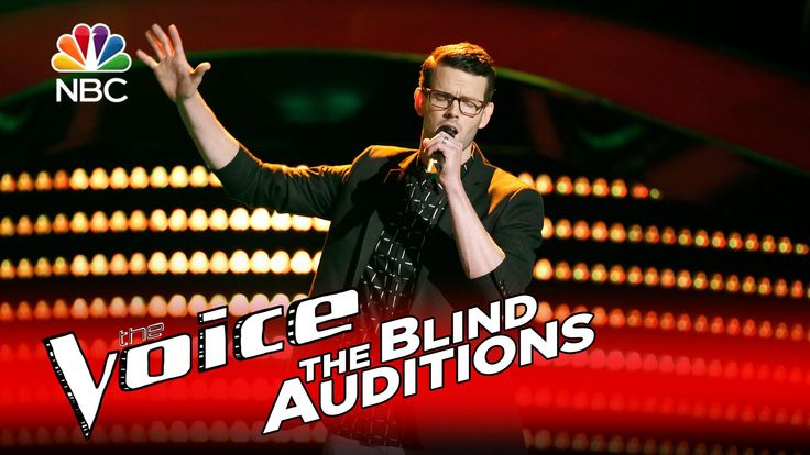 """The Voice 2016 Blind Audition - Dave Moisan: """"Sex and Candy"""""""
