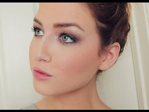All @bareminerals makeup look with a plum smoky eye! #bareminerals