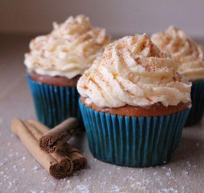 Kaneel cupcakes (dr. Oetker)