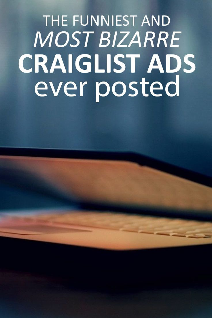 the funniest most bizarre craigslist ads ever posted funny
