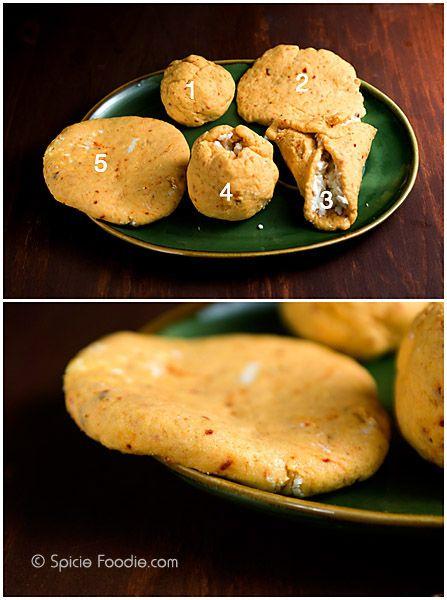 Spicy Cheese Pupusas or El Salvadoran Corn Cakes (made with yellow corn flour) | Pupusas de Queso – Spicie Foodie ™