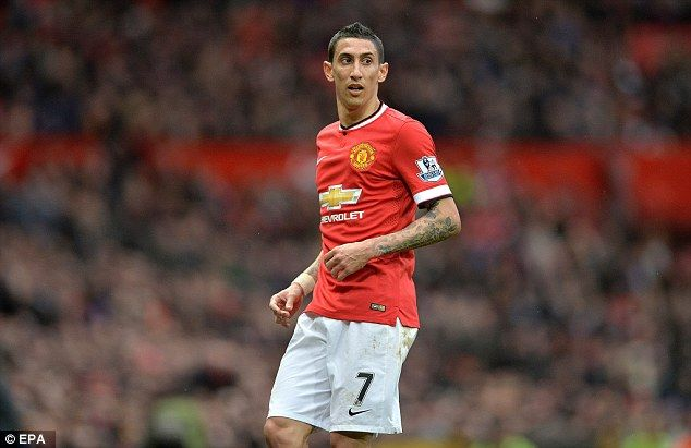 Angel Di Maria was bought by Manchester United for a club-record £60m from Real Madrid