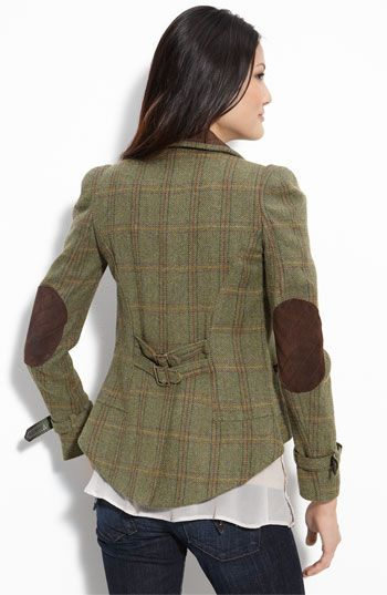 Cute jacket! uPcyCle a men's suit jacket!