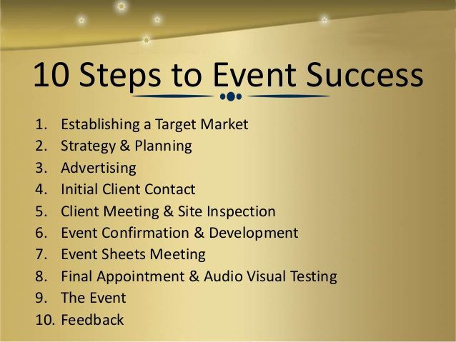 The  Best Event Management Company Ideas On