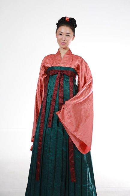 North–South States Period Korean clothes : Unified Silla(AD668-935) Clothes #hanbok