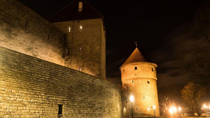 Medieval night - City Photography, Photography of Tallin