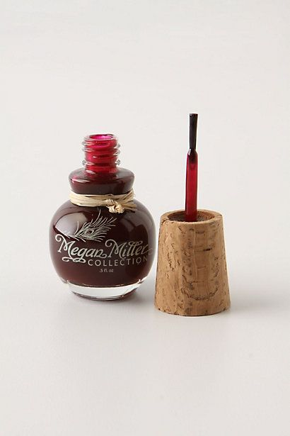 Megan Miller Nail Polish. Love the color and the cork top!