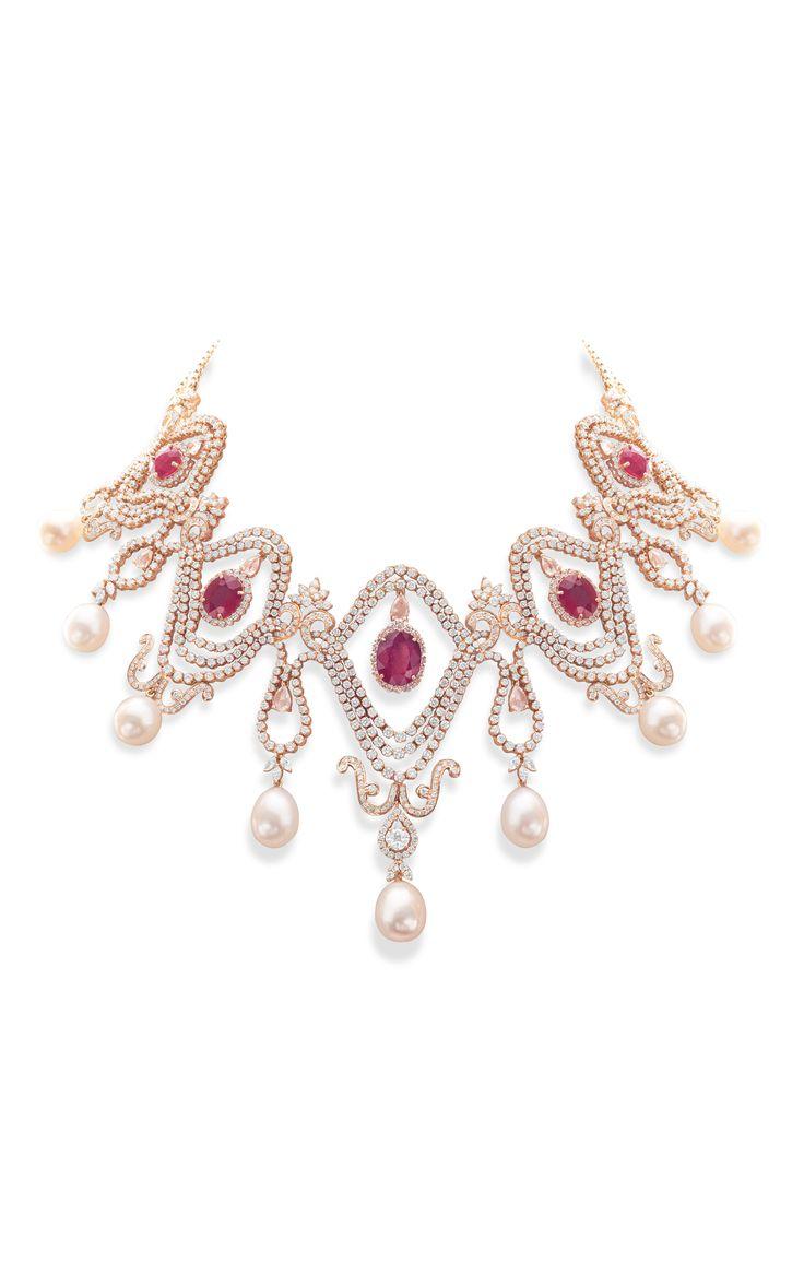 Scarlet Choker by Farah Khan Fine Jewelry for Preorder on Moda Operandi