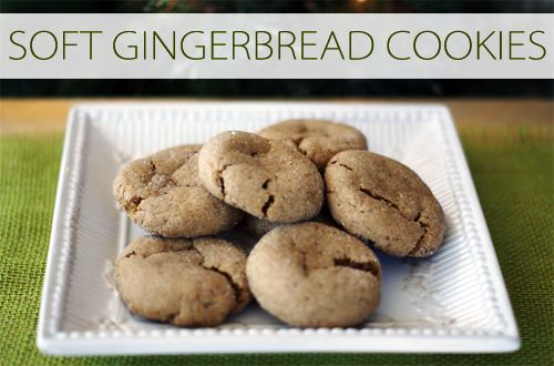 Grab this soft gingerbread cookie recipe—it's amazing! {101 Days of Christmas at lifeyourway.net}