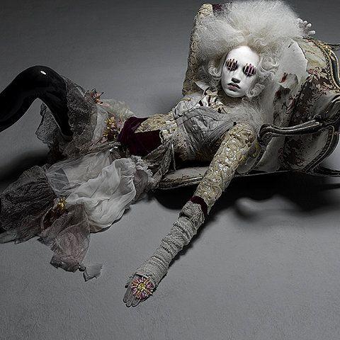 Cyber Chic  By  Majo Fruithof Collection shot by Patrizio Di Renzo    #Fashion #Womens