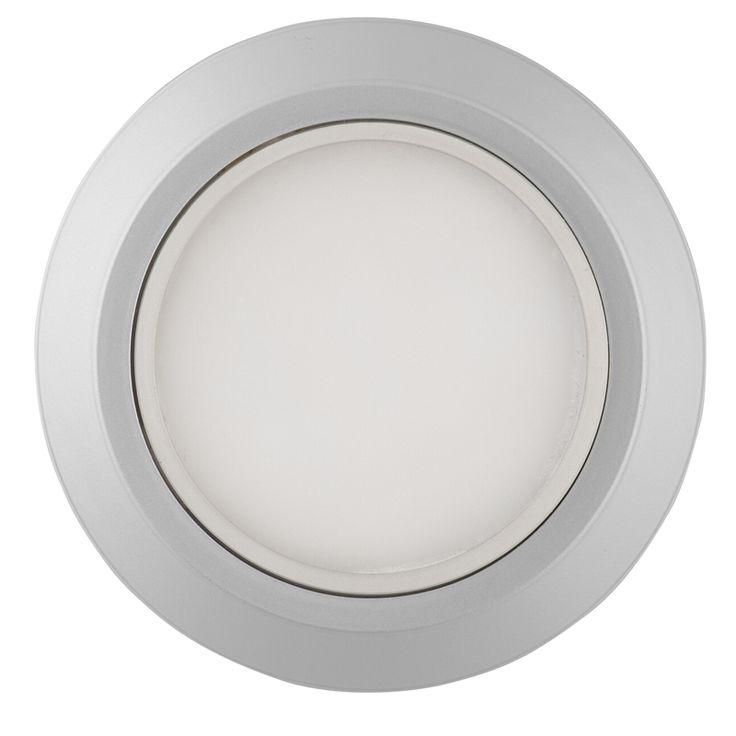 Arlec Led Puck Light Kit: Arlec 3W White LED Puck Light Kit