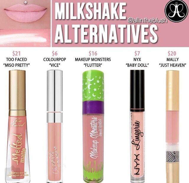 Abh liquid lipstick dupe in milkshake // @kathrynglee123