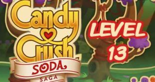 Candy Crush Soda Saga Level 13