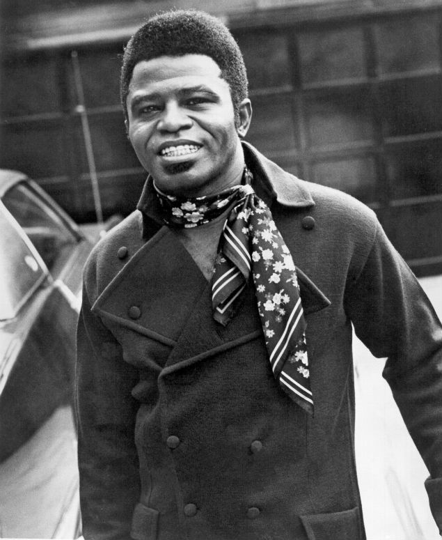 James Brown-Got to see him when I was about 13. What an awesome memory!