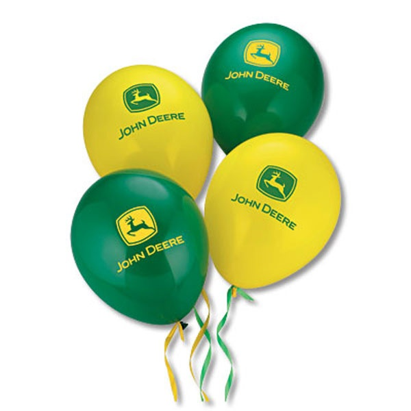balloons for tractor party