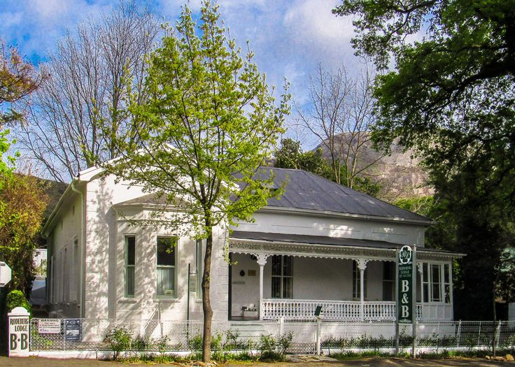 Historical guesthouse in Paarl.