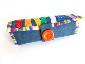 Made by Irinelli: Текстильные пеналы