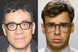 If they ever getting around to making the long awaited sequel for Spaceballs and Rick Moranis (R) is not interested in reprising his role, then chances are high that Fred Armisen (L) would be a good fit for the role. However, let's not spoil a good thing by making a crappy sequel to a campy classic, okay?