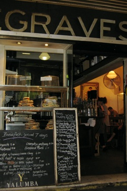 Degraves Cafe on Degraves Street - one of the originals.