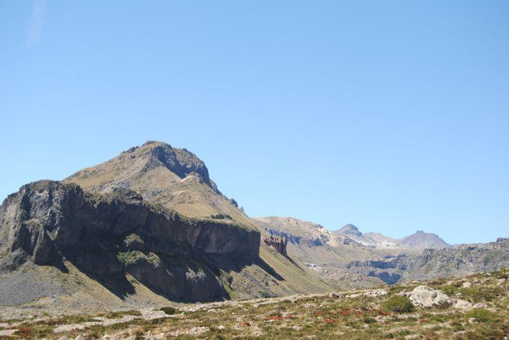 Parada para ver posible punto de Geo Parque