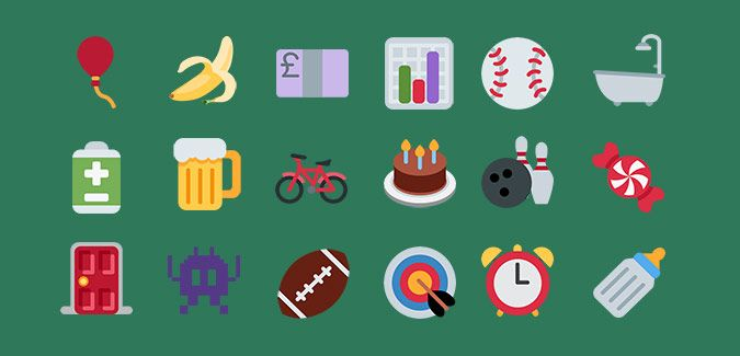 A huge selection of high quality, large printable emojis. The Objects pack contains 222 named images so they can be searched to find the emoji you need.