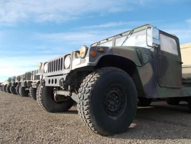 For the First Time, Military's Titans Are Up for Sale Online: Upwards of 10,000 Humvees will passing under GovPlanet's auction gavel
