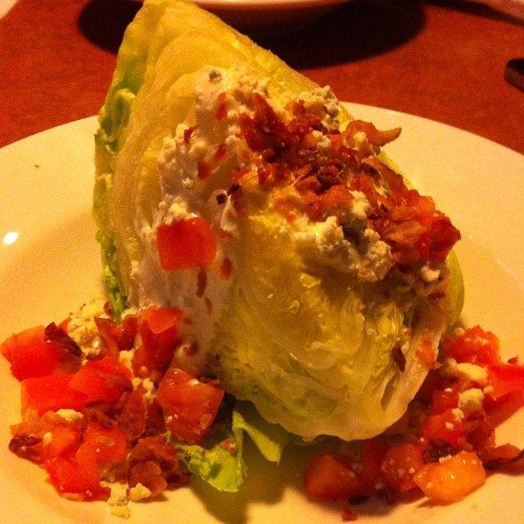 TGI Fridays Restaurant Copycat Recipes: Blue Cheese Wedge Salad