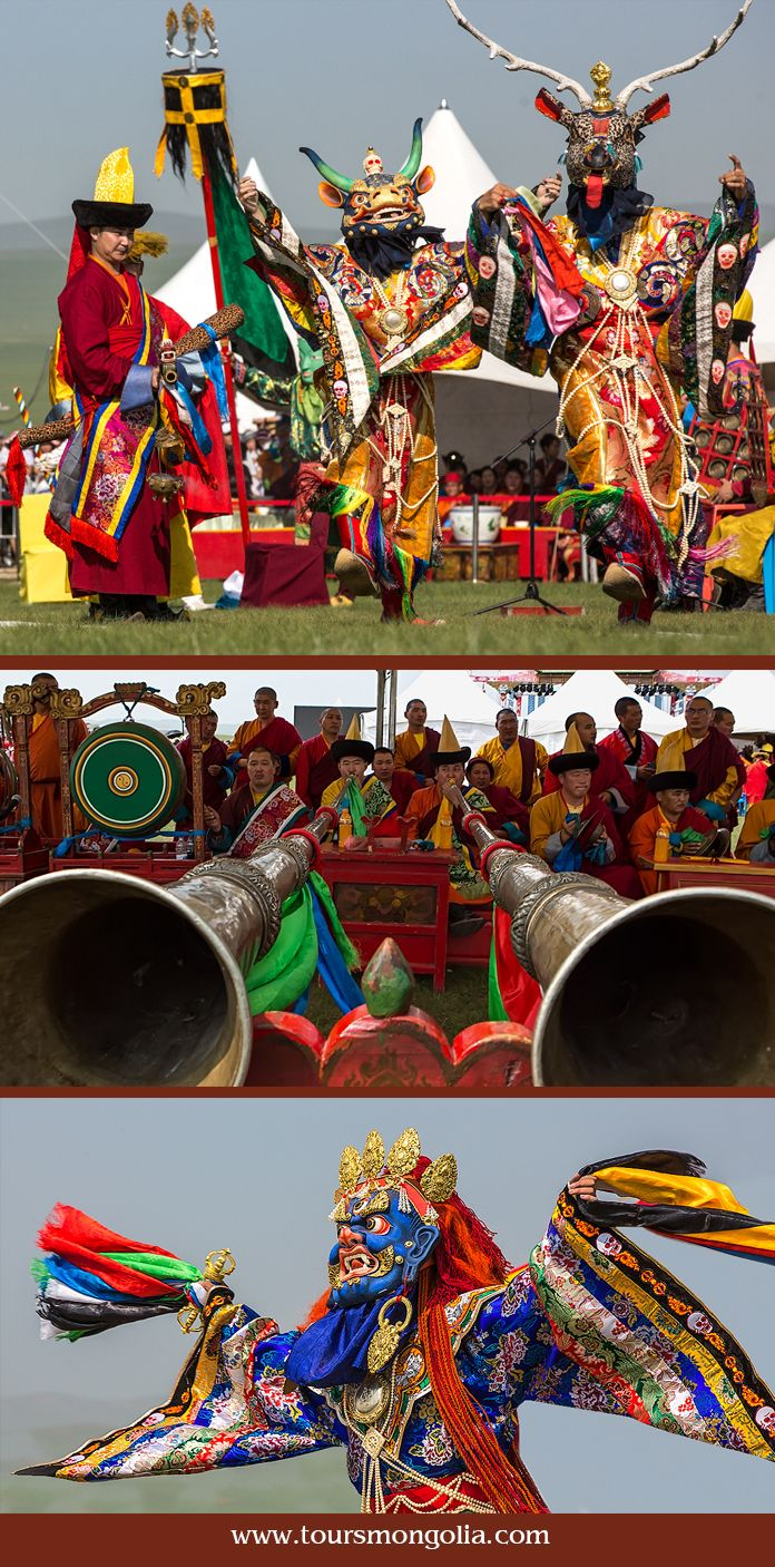 Danshig Naadam & Tsam Dance Festival is held annually dedicated to the anniversary of Holy Zanabazar – Mongolia's first Buddhist leader starting from 5-6 August near Ulaanbaatar.