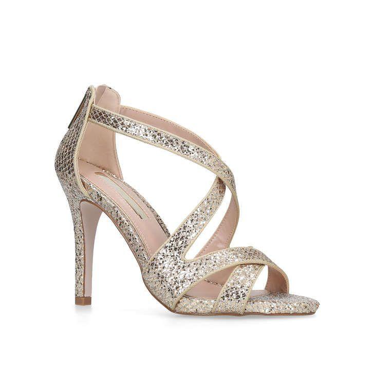 Shae Blue High Heel Sandals By Miss KG | Kurt Geiger