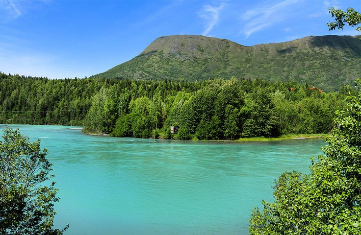 They forget that it's also like a tropical resort.   20 Photos That Prove Alaska Is Pure Bliss In The Summertime