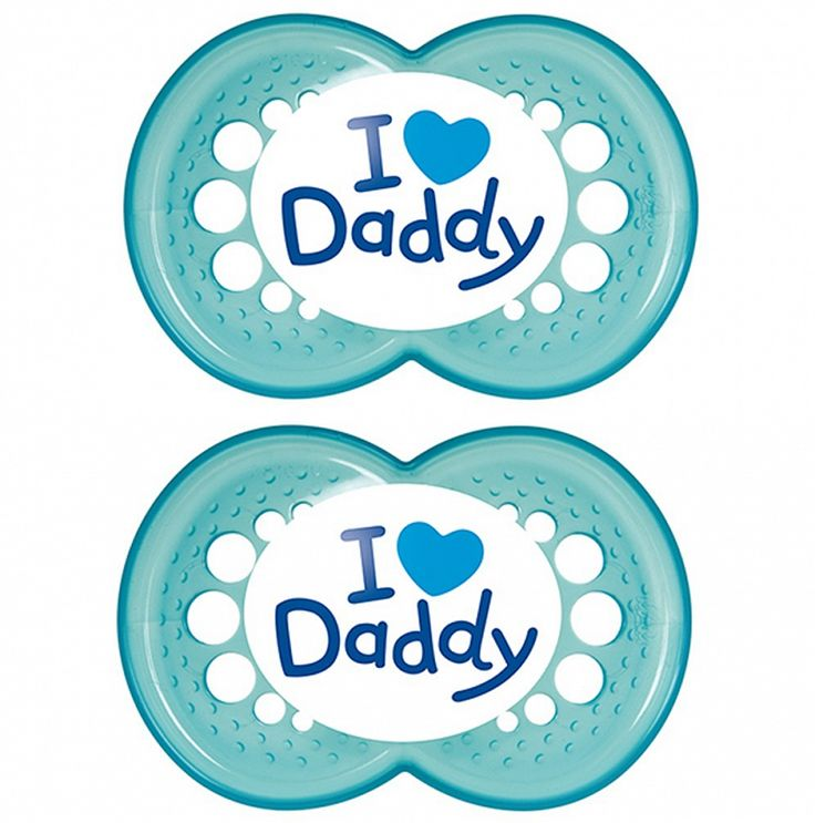 "MAM ""TRENDS"" 2x Dummy Pacifier Soother,"