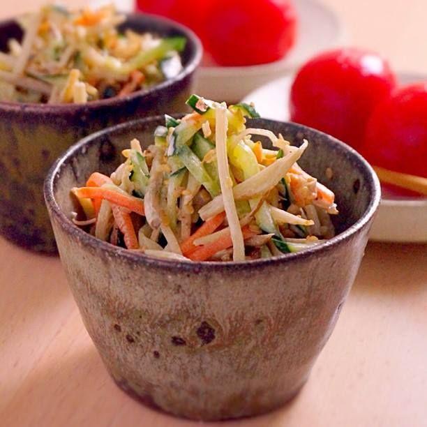 ごぼうサラダのつくり方 | あさこ食堂