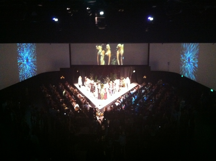 Runway fashion show in the International Ballroom at Infinity Park  www.infinityparkeventcenter.com