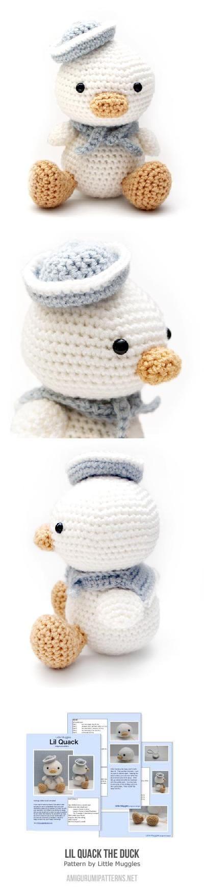 Lil Quack The Duck Amigurumi Pattern