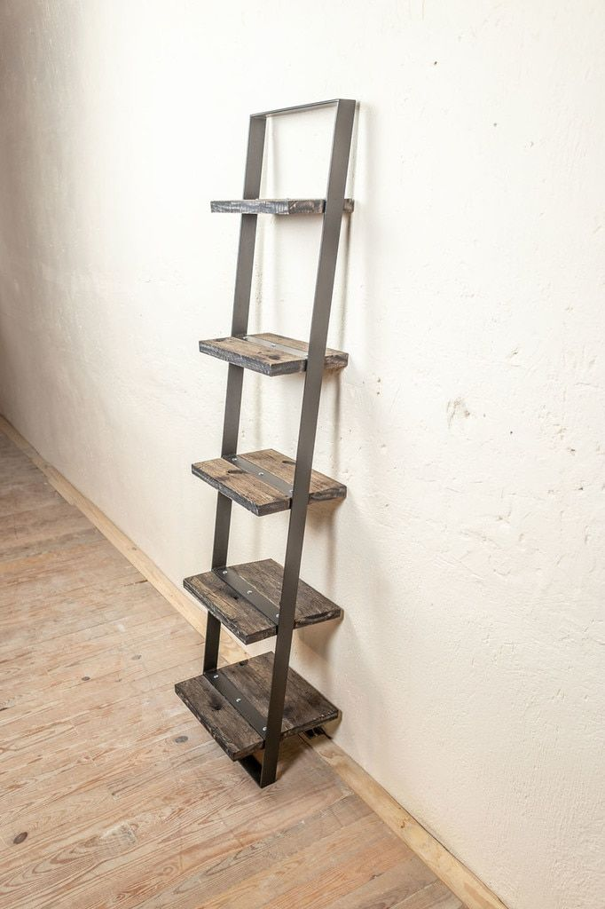 Leaning Wall Shelf Diy Small Apartment Small Apartment