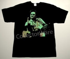 JOHNNY CASH drawing 11 CUSTOM ART UNIQUE T-SHIRT   Each T-shirt is individually hand-painted, a true and unique work of art indeed!  To order this, or design your own custom T-shirt, please contact us at info@collectorware.com, or visit  http://www.collectorware.com/tees-johnny_cash.htm