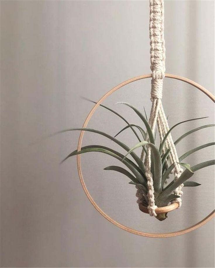 Filato Macramè Appendiabiti; Plant Hanger; Appendiabiti da interno Macrame Idea fai da te …