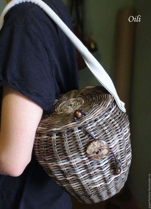 Сумки и аксессуары ручной работы. сумочка плетеная