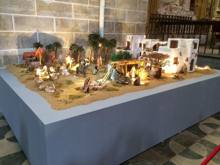 Hoy presentamos unas imágens del Belén Bíblico que nuestro amigo Juan Roco ha instalado en la Catedral de Plasencia, con imaginería de Angel...