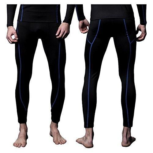 FX Mens MAXHEAT Fleece Long Johns Thermal Underwear Bottom Black L