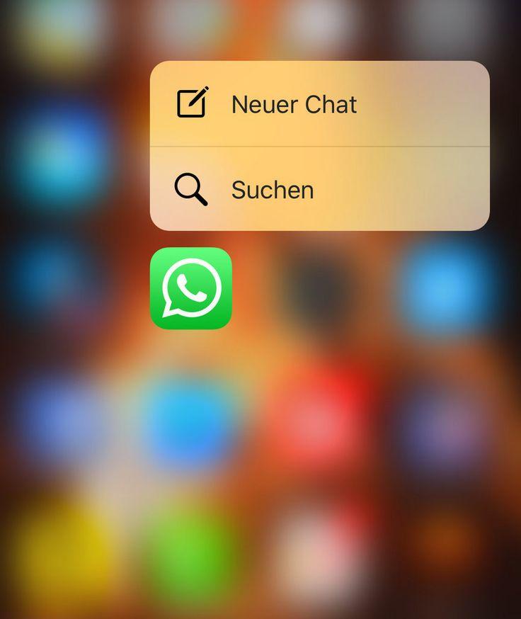WHATSAPP FÜR IOS Neues Update bringt 3D Touch für iPhone 6s